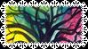 Rainbow Tree Stamp