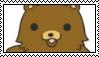 Kawaii Pedo Bear Stamp by allivegotarerainbows