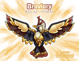 Braviary Relam Form (fanpage) by gimbo-gp
