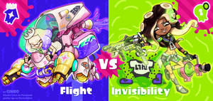 Flight VS Invisibility D.va-Pearl VS Sombra-Marina