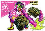 ARMS GUESTS - DJ Octavio from Splatoon