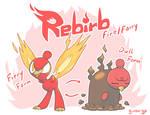 Rebirb - The New Life Fakemon