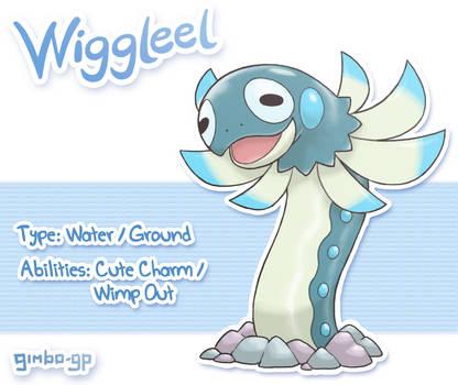 Wiggleel - Pokemon X Monster Hunter