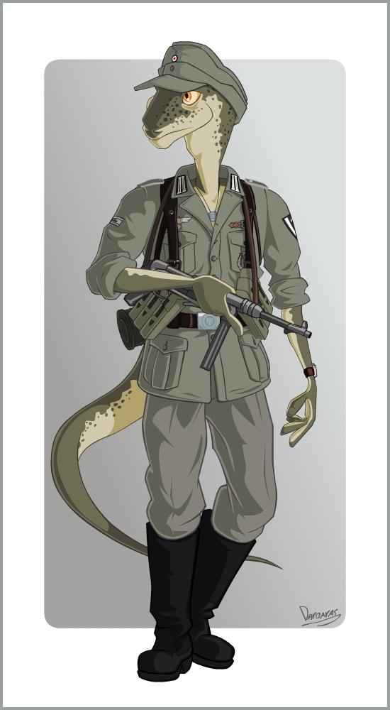 Wehrmacht Soldier by Darbaras