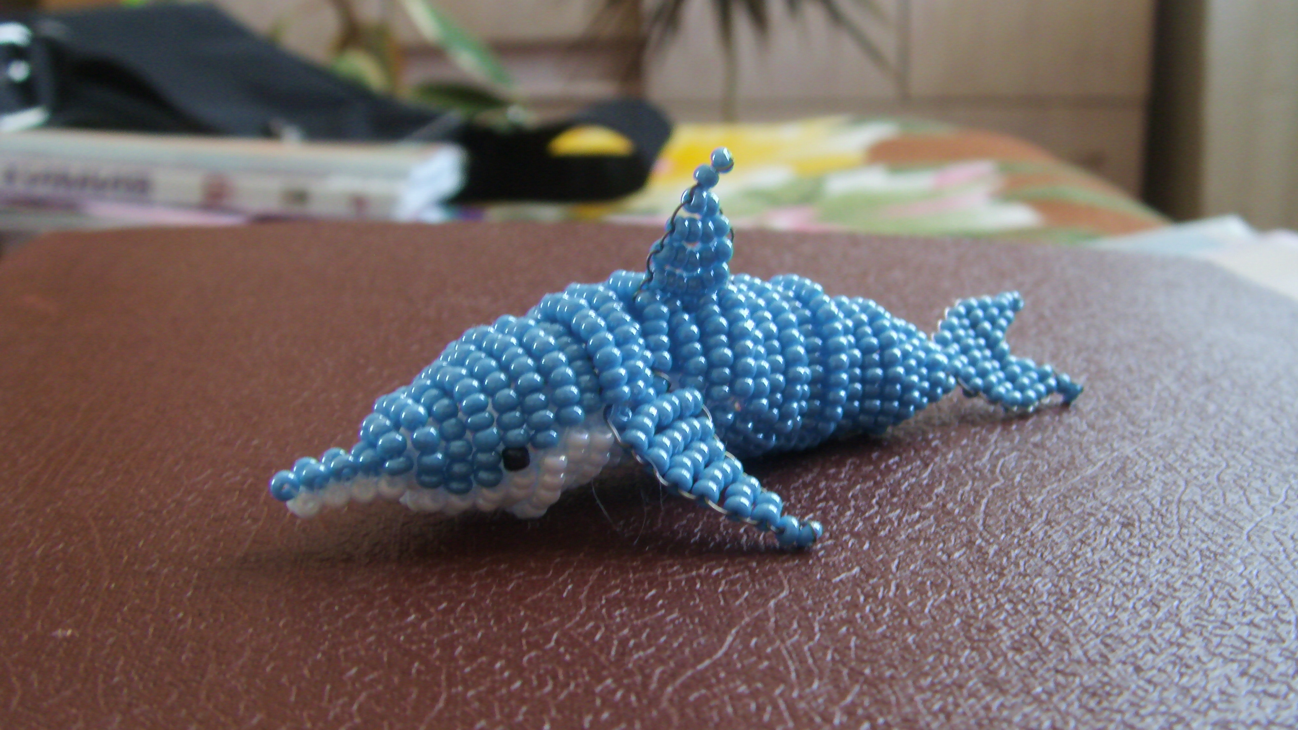 A beaded dolphin by RusCSI