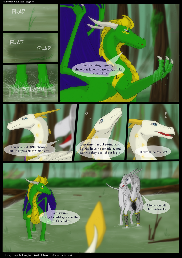 A Dream of Illusion - page 97 by RusCSI