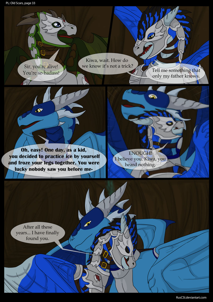 PL: Old Scars - page 33