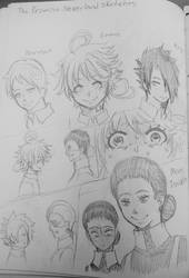 The Promised Neverland (Sketches) by WritingwithHearts