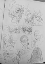 The Promised Neverland (Sketches)[Spoilers] by WritingwithHearts
