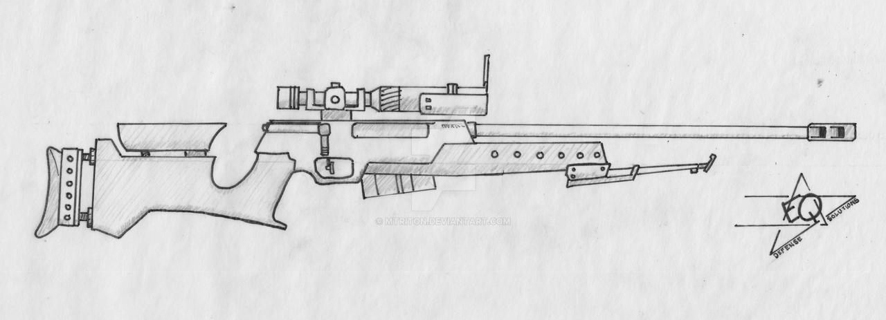 Kirian VSR Sniper Rifle by MTriton