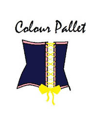 Colour pallet Corset by Straw-berrys
