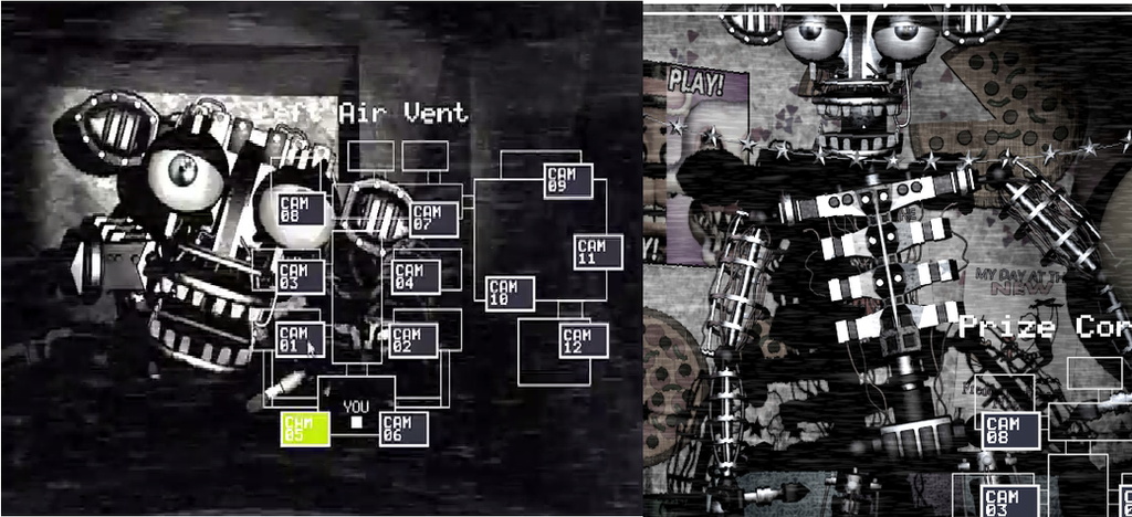 Mysterious Endoskeleton Encountered in FnaF 2 by Kriztian ...