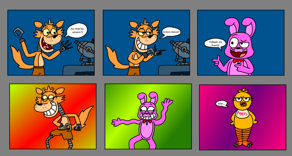 Fnaf a step into humanity page 3 by kriztian draws on deviantart
