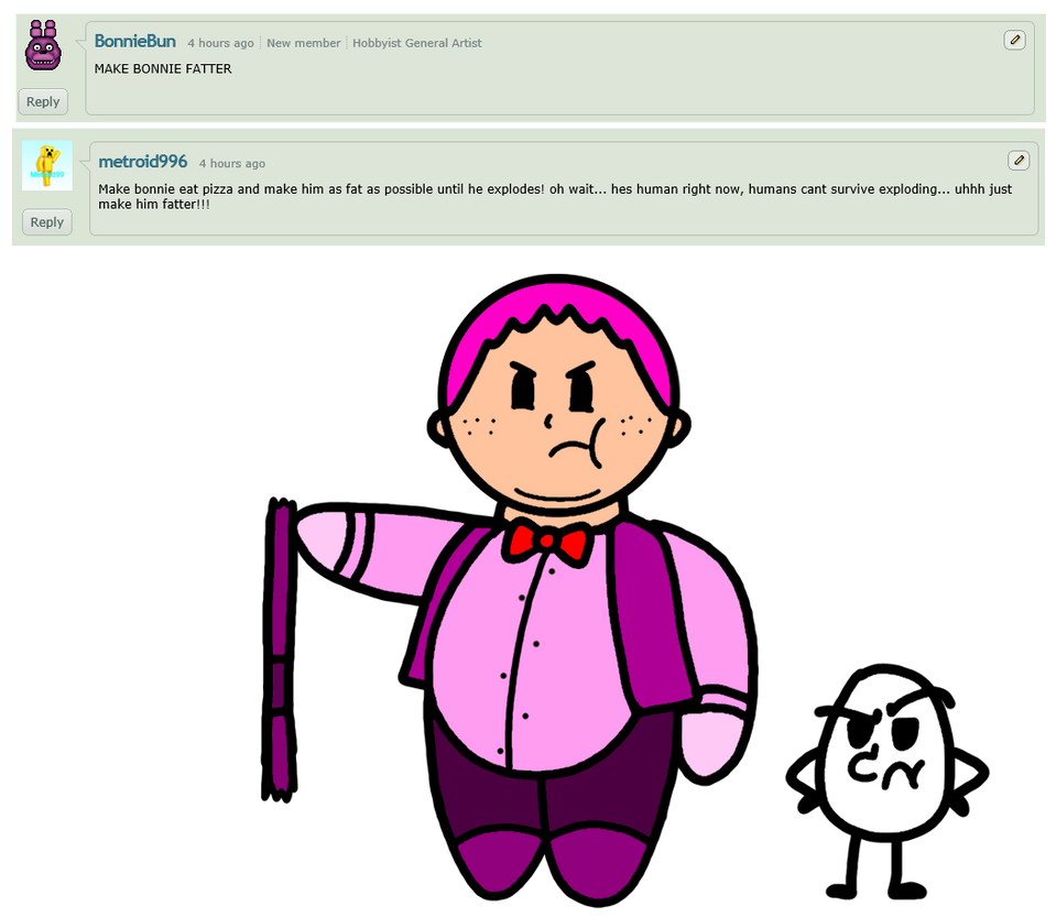 Ask The Humanzied FnaF Crew Question 26 By Kriztian-Draws