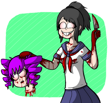Yandere Chan by Kriztian-Draws