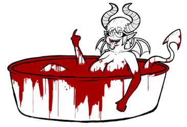 MonsterGoreTober Day 10 by Kriztian-Draws