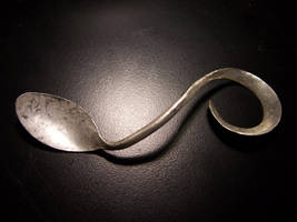 Forged Teaspoon by MirabellaTook