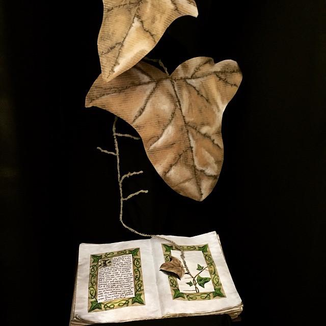 I am the Vine Illuminated Book by MirabellaTook
