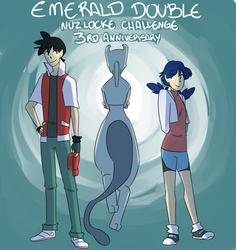 Emerald Double Nuzlocke 3rd Anniversary! by mizj