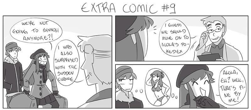 Extra comic #9 by mizj