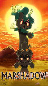 OwO Marshadow by GoldieCross on DeviantArt