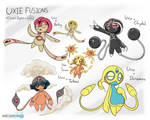 Uxie Fusions