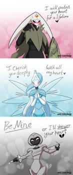 Hollow Knight OC Valentines