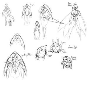HK OC Doodle Concepts