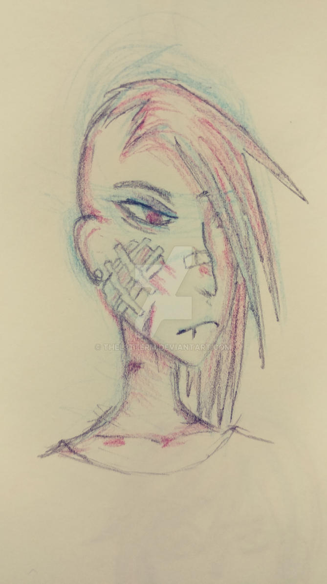 Rouge Colored Pencil Test by TheL3tterM