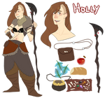 new holly fullbody