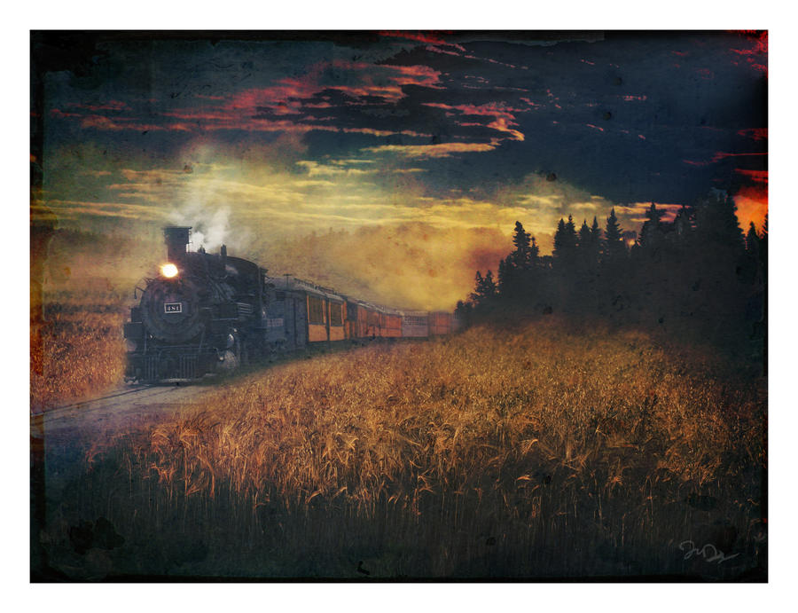 Night Train Carry Me Home by nine9nine9
