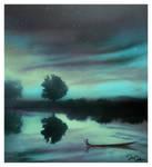 Last Breath of Blue Heaven by nine9nine9