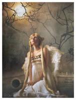 Angel in a Moonlight Mist by nine9nine9
