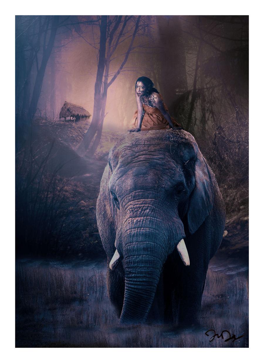 Deep in the Jakarta Jungle by nine9nine9