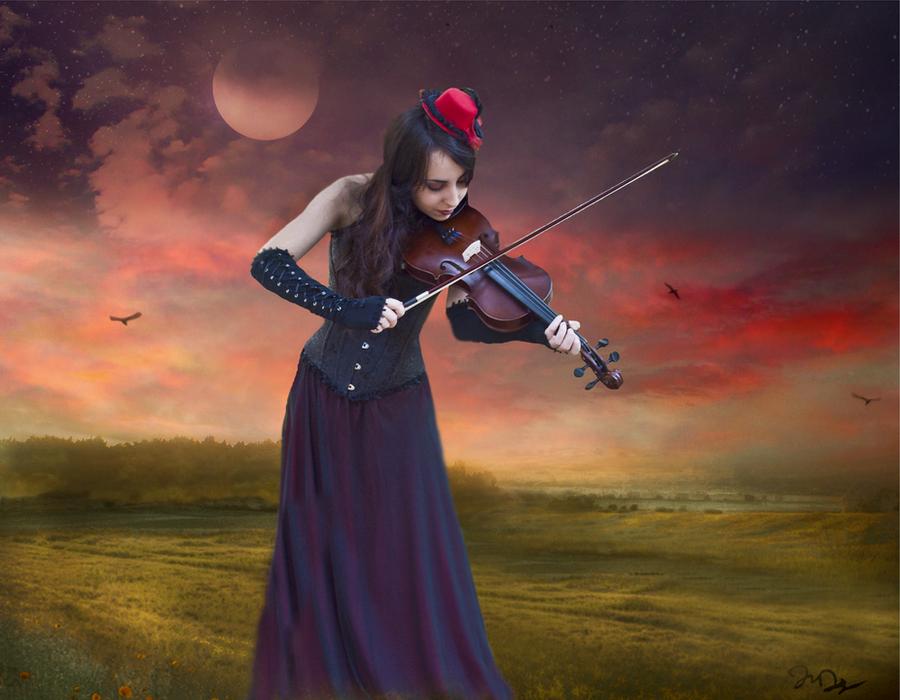 GOTIKAS❤️✝☯★☮ - Página 3 Serenade_for_a_prarie_moon_by_nine9nine9-d8nr53j