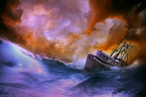 Lost at Sea by nine9nine9