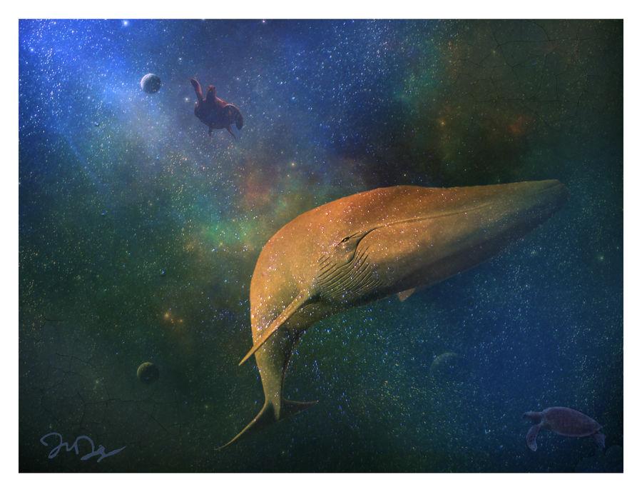Beyond the Milky Way by nine9nine9
