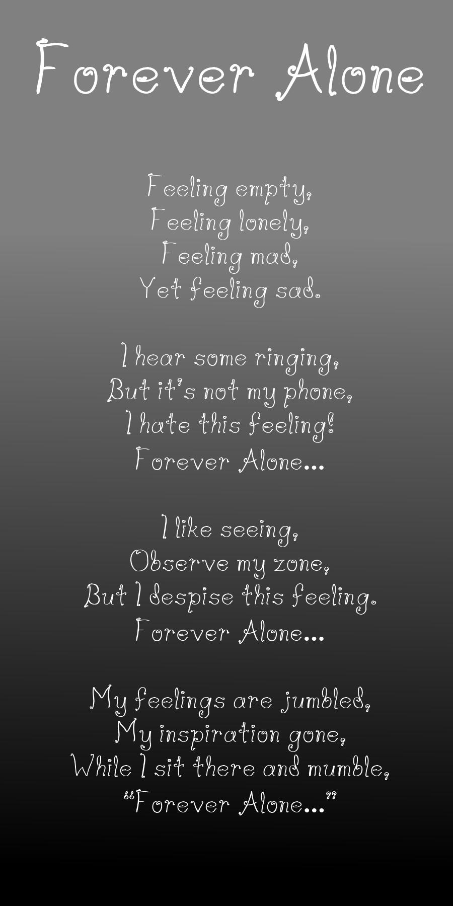 Forever Alone Quotes. QuotesGram
