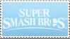 Super Smash Bros Ultimate Blue Stamps