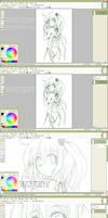 Paint.NET Lineart Tutorial by DemonedAway