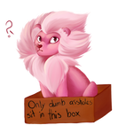 Pink Idiot by StellarComet