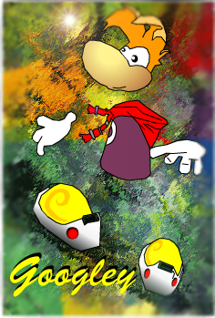 Rayman in Pixels... o_O by googley