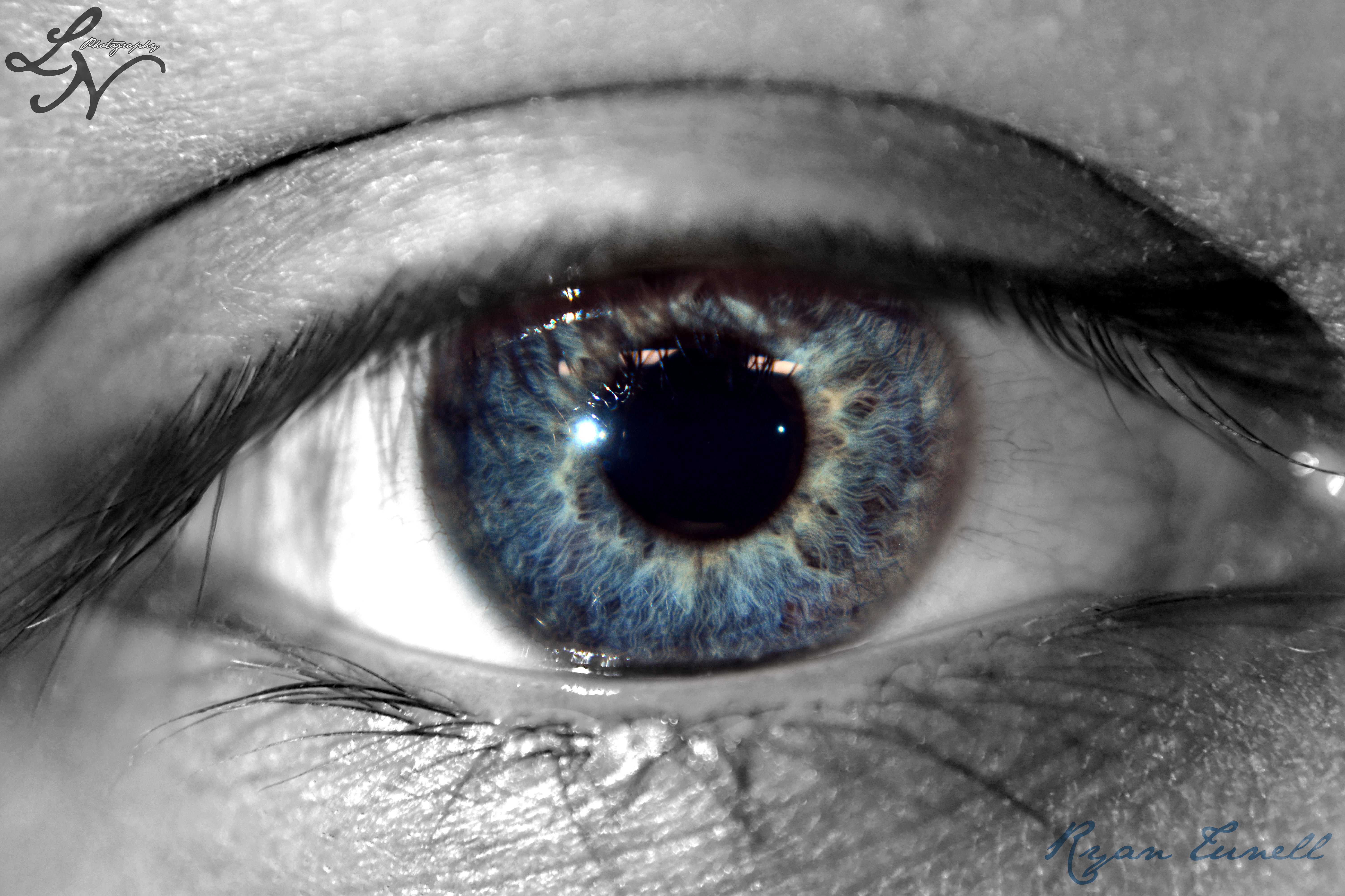 Eye Project: Deep blue by ShineeDragon