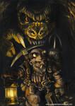 dwarf miner- enano minero