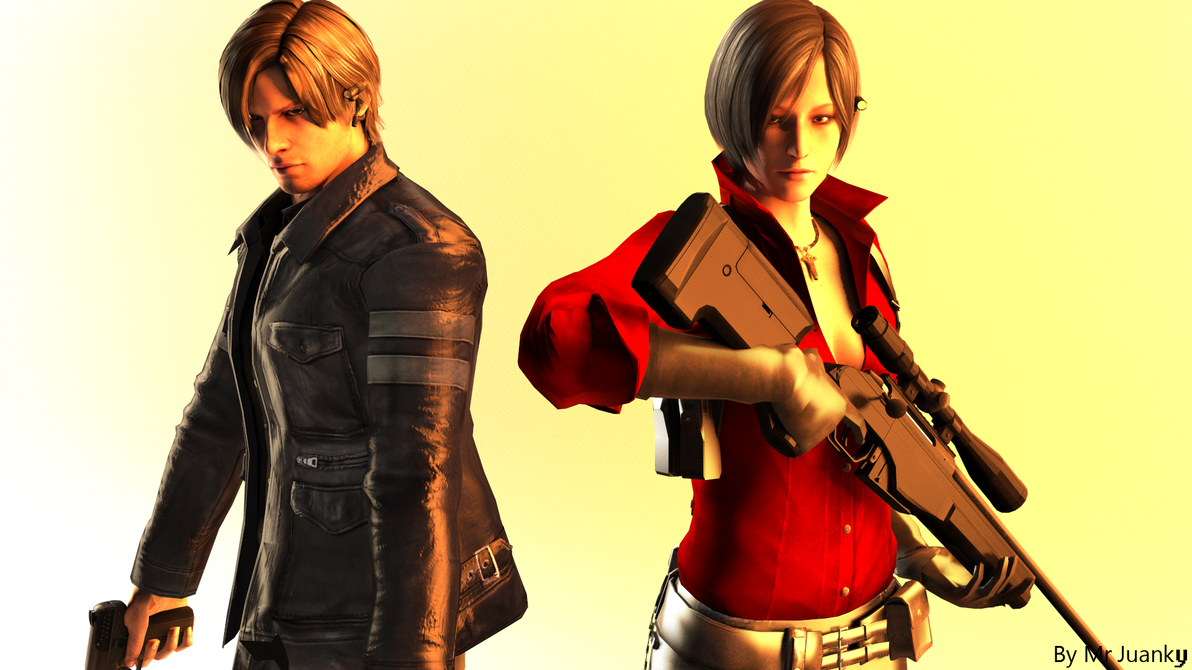 and Leon S  Kennedy RE6 by