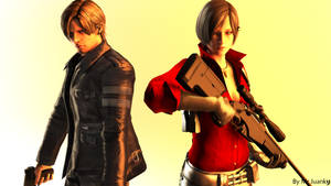 Ada Wong and Leon S. Kennedy RE6