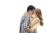 Kissing Couple PNG