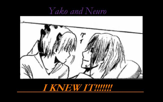 Relationship of Neuro and Yako by crazysally