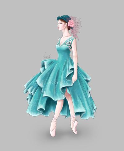 Ballet 03 by Flurryfox