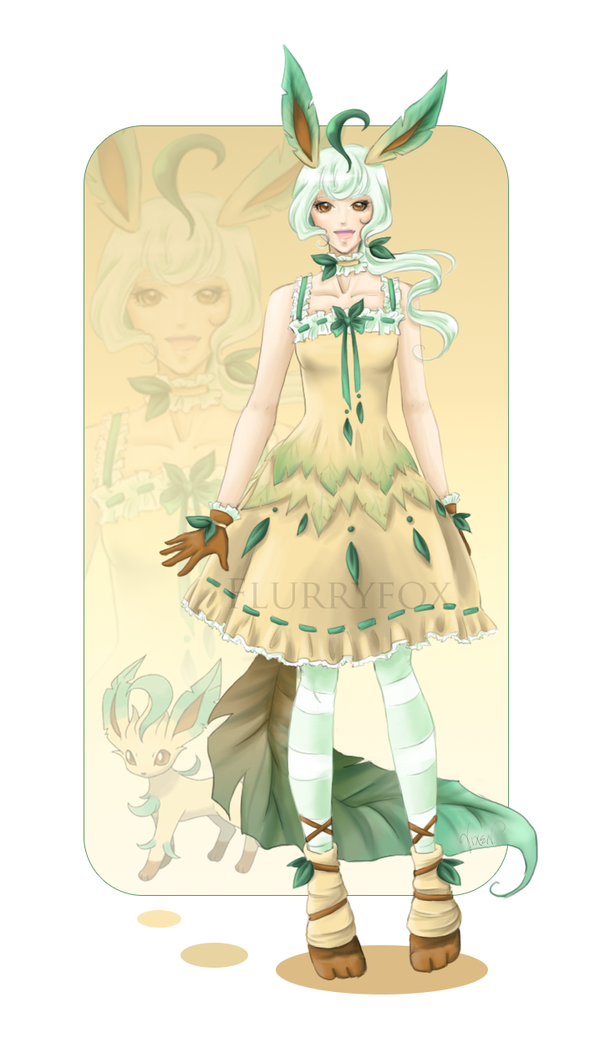 Leafeon Sundress by Flurryfox
